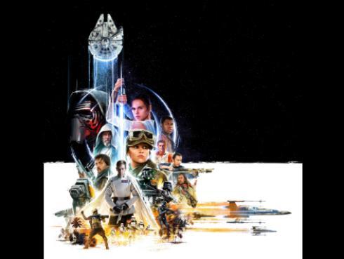 Hay tres datos escondidos de 'Star Wars: Rogue One' en este afiche. ¿Ya viste cuáles son?