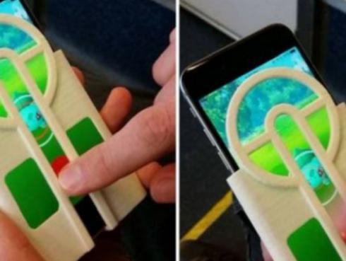 ¡Con esta funda de celular podrás capturar cualquier Pokémon!