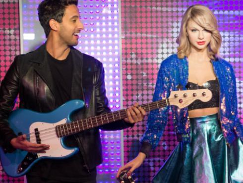¡Esta estatua de Taylor Swift es tan perfecta que parece real! [FOTOS]