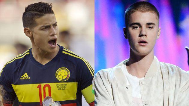HOT! ¡James Rodríguez le sigue los pasos a Justin Bieber con este íntimo detalle! (FOTOS)