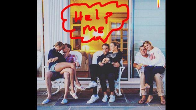 La cara de Ryan Reynolds: Una foto que resume todo lo que sentimos con el fenómeno Taylor Swift + Tom Hiddleston