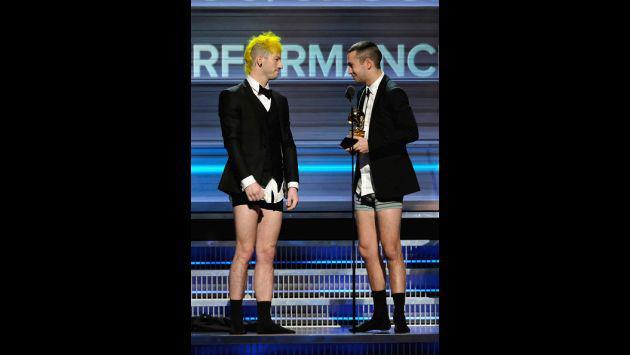 Grammy 2017: Twenty One Pilots recibió premio... ¡sin pantalones! [FOTOS]