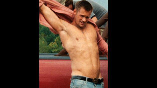 Alexander Skarsgård: Así era su cuerpo antes de interpretar a 'Tarzán' (FOTOS)
