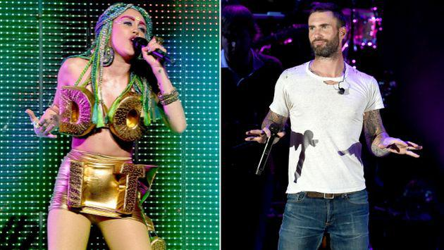¡Adam Levine no soportaría a Miley Cyrus en 'The Voice'!