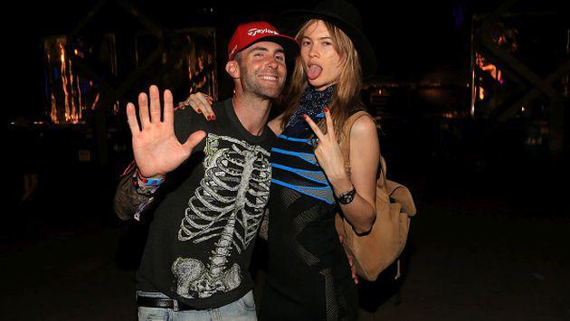 ¡Mira la primera foto de la hija de Adam Levine y Behati Prinsloo!