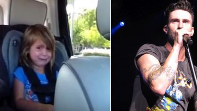 Adam Levine le respondió a niña que lloró por él al enterarse que estaba casado [VIDEO]