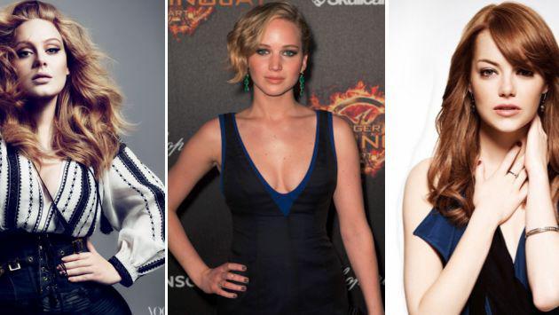 Adele, Emma Stone y Jennifer Lawrence se fueron de juerga juntas [FOTO]