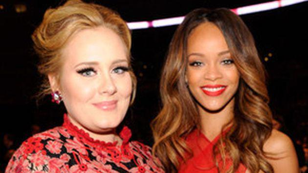 WTF! Adele teme salir drogada de concierto de Rihanna