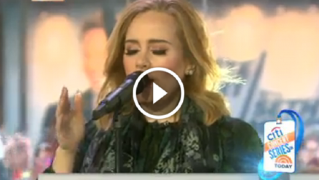 Adele interpretó en vivo nueva canción de '25', 'Million Years Ago' [VIDEO]