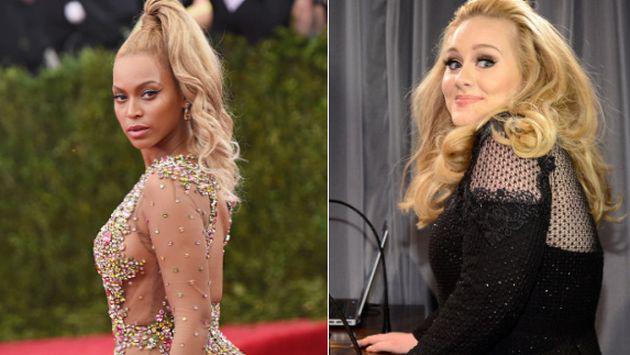 ¡Adele fue confundida con Beyoncé por locutor! [AUDIO]