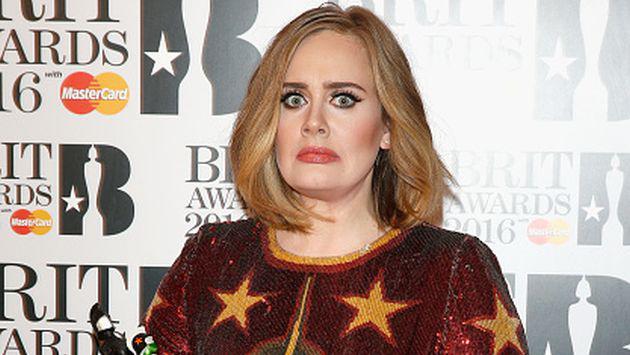¡Esta imagen de Adele está asustando a más de uno! ¡Chécala!