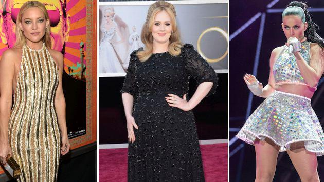 Adele hizo llorar a Katy Perry y a Kate Hudson [FOTOS]