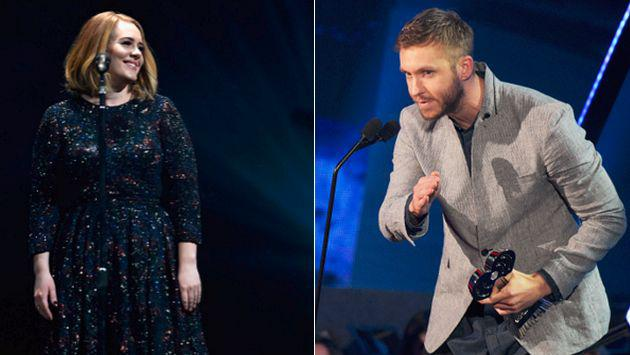 ¡Adele y Calvin Harris baten recórd en el Reino Unido!