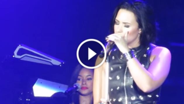¡Demi Lovato hizo increíble cover de 'Hello' de Adele! ¡Chécalo! [VIDEO]