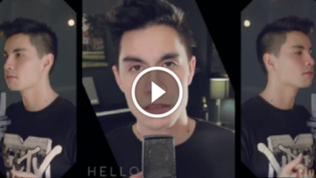 ¡Alucinante! Joven interpretó el álbum '25' de Adele en tan solo 4 minutos [VIDEO]