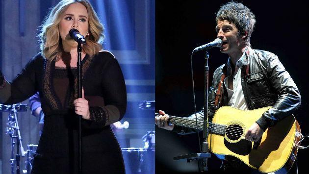 ¿Adele canta música para abuelitas? Así lo cree Noel Gallagher