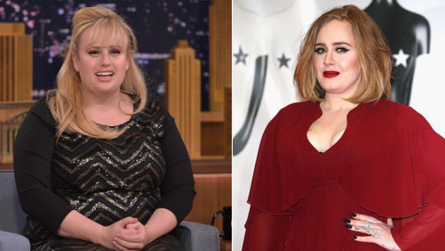 OMG! Adele se niega a que Rebel Wilson la interprete en el cine [FOTOS]