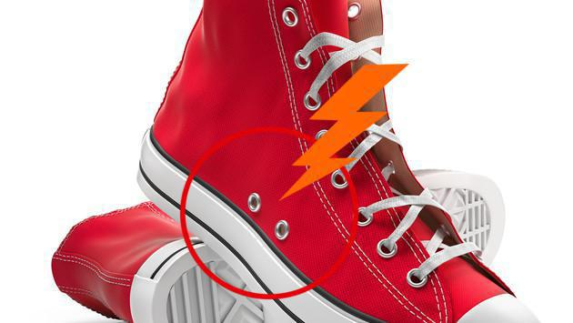 ¿Para qué sirven los agujeros laterales de algunas zapatillas? [VIDEO]