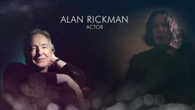 Oscars 2016: Alan Rickman fue recordado en homenaje de ceremonia