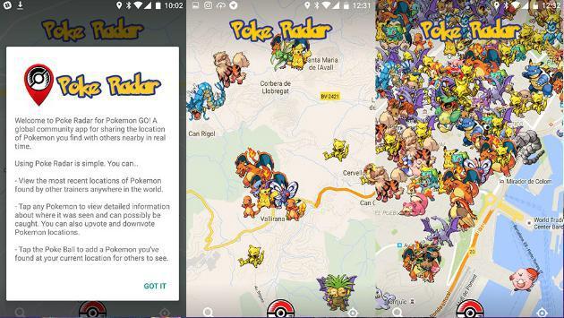 'Pokémon GO' y tres aplicaciones con las que podrás capturar a todos los pokémon