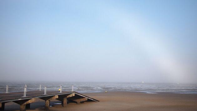 ¿Este es uno de los fenómenos meteorológicos más raros del mundo? [FOTO]