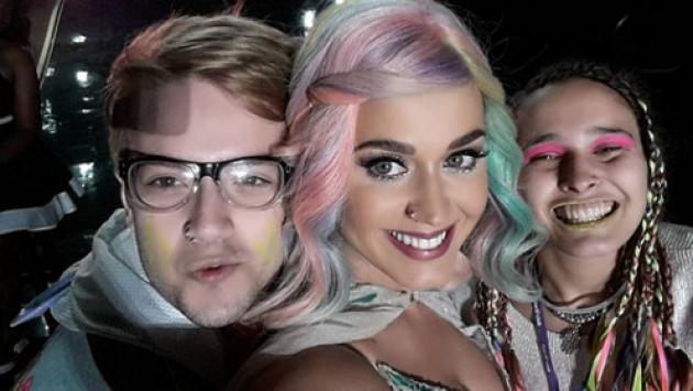 Argentino deslumbró a Katy Perry ¡Entérate!
