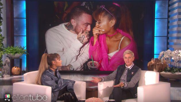No vas a creer cómo reaccionó Ariana Grande cuando le preguntaron por Mac Miller [VIDEO]