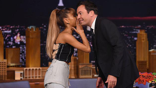 ¡No vas a creer de qué comediante estaba enamorada Ariana Grande! [VIDEO]