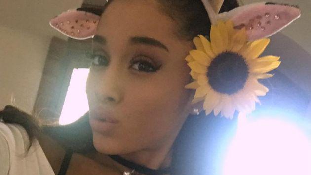 Ariana Grande dio lección a sujeto que se burló de su apariencia física [FOTO]