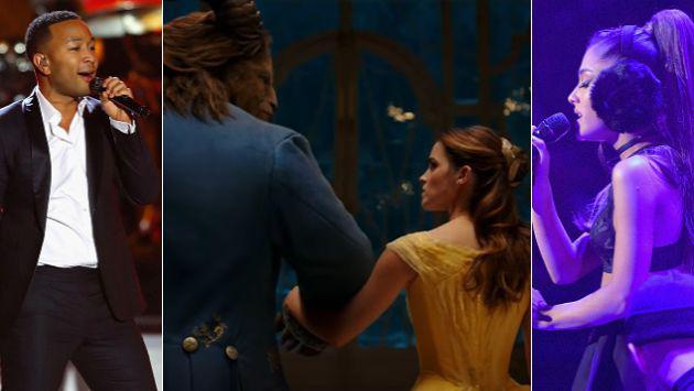 Escucha a Ariana Grande y John Legend cantar en el trailer de 'La bella y la bestia' [VIDEO]