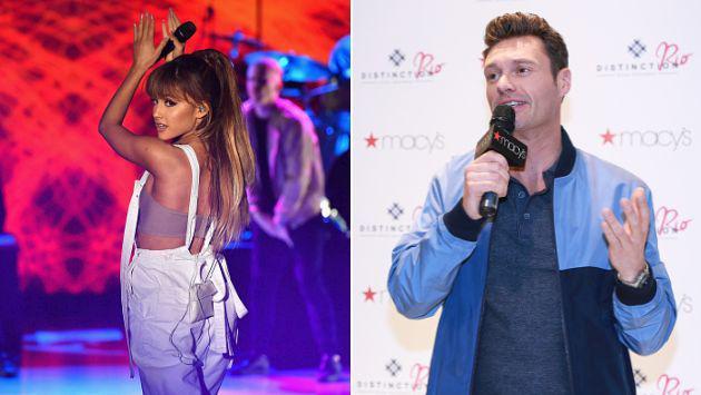 Ariana Grande 'cuadró' a presentador que le preguntó por Mac Miller [VIDEO]