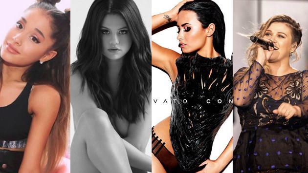 Ariana Grande y Kelly Clarkson opinan sobre nuevos discos de Selena Gomez y Demi Lovato ¡Entérate!