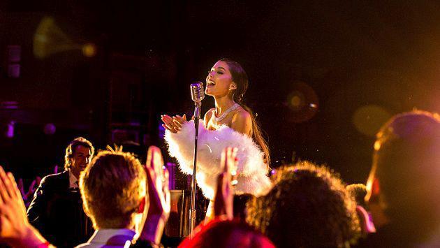 OMG! Ariana Grande imitó a Zayn Malik y Justin Bieber [VIDEO]