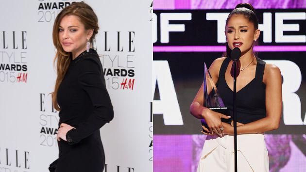 OMG! ¡Lindsay Lohan 'atacó' así a Ariana Grande! [FOTO]