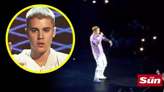 Así de accidentado fue el inicio de la gira de Justin Bieber en Reino Unido