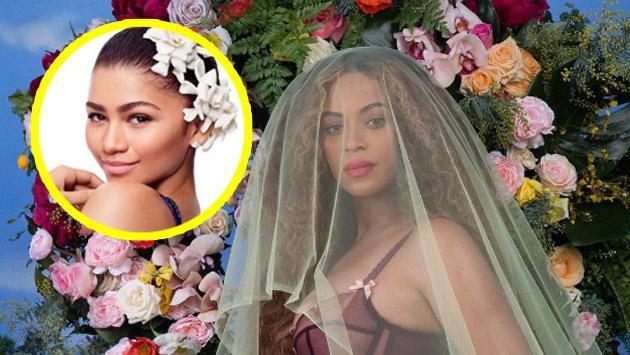 Así felicitó Zendaya a Beyoncé por su embarazo