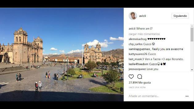 ¡Avicii está ahora en Cusco! El DJ disfruta de sus vacaciones por el Perú [FOTOS]