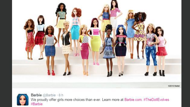 OMG!!! ¡No podrás creer como luce la nueva Barbie!