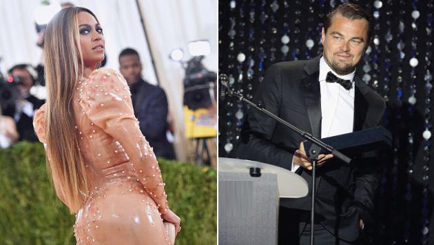 ¡Leonardo DiCaprio fue capaz de robarle el show a Beyoncé en su propio concierto! [FOTOS]