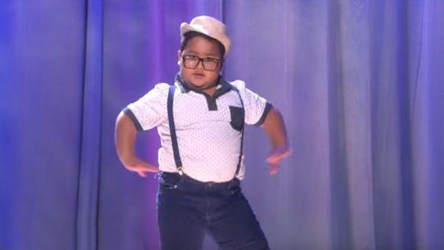 ¡Niño de 7 años hizo increíble imitación de baile de Beyoncé! [VIDEO]