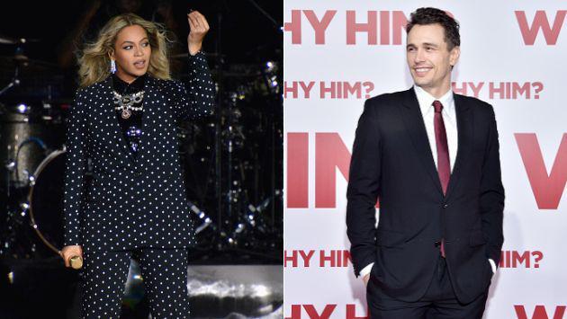 WTF! ¡Mira a James Franco transformado en Beyoncé! [FOTO + VIDEO]