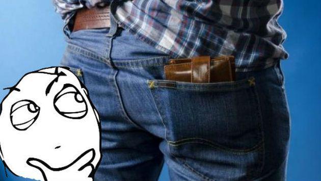 ¿Por qué no debes llevar tu billetera en el bolsillo trasero?