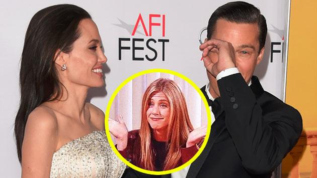 Brad Pitt y Angelina Jolie se divorcian, mientras que Jennifer Aniston...