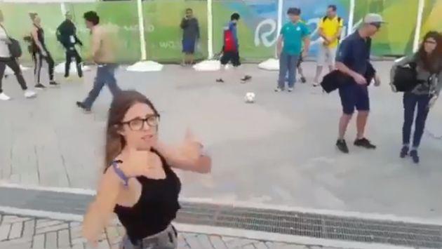 ¡Esta reportera argentina pasó el roche de su vida en Río 2016! [VIDEO]
