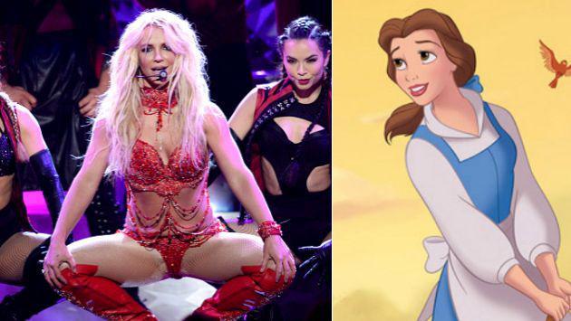 ¿Cuál es el resultado al mezclar a Britney Spears con la 'Bella y la Bestia'?