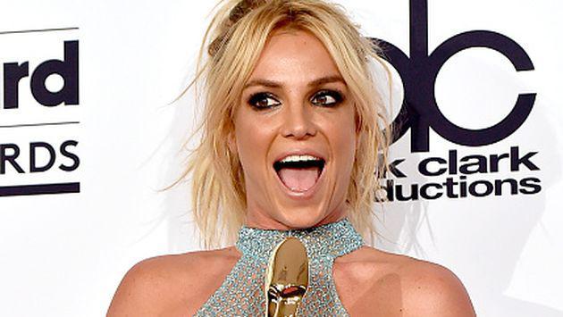 ¡Britney Spears mostró toda su sensualidad con este topless! [FOTO]
