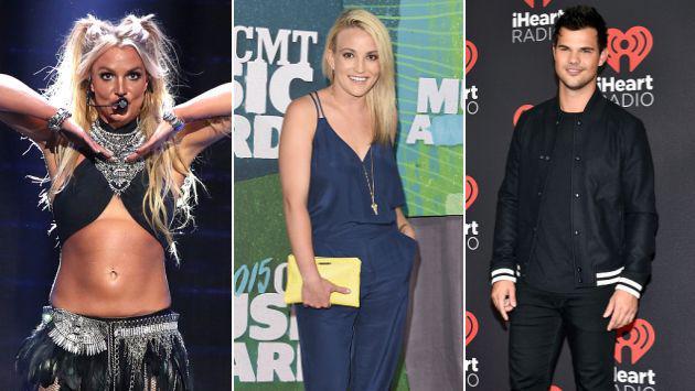 ¡Britney Spears quiso ser el 'cupido' de su hermana y Taylor Lautner!