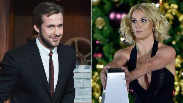 ¡Asu! Britney Spears no pudo resistirse a los encantos de Ryan Gosling [FOTO]