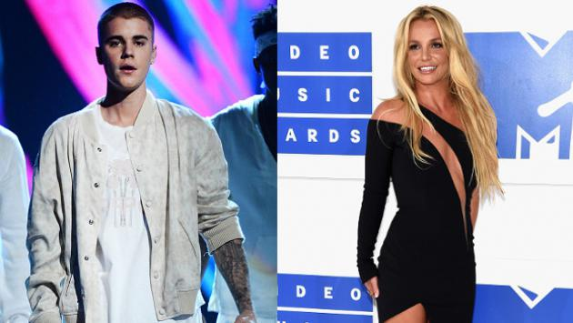 ¡Britney Spears confesó que prefiere besar a Justin Bieber que a la 'Reina del pop'!