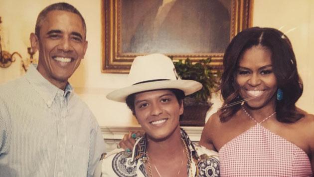 ¿Bruno Mars, el hijo perdido de Barack y Michelle Obama?